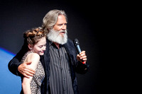 MacKenzie Foy and Jeff Bridges