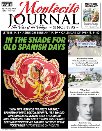 Montecito Journal July 12-19, 2018