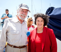Jean-Michel Cousteau and Mayor Schneider