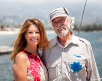 Rhonda Henderson and Jean-Michel Cousteau